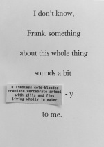 I Dont Know, Frank